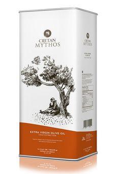 Cretan Mythos Olivenöl Extra Nativ 5,0 Liter. Das #Olivenöl Cretan Mythos Nativ Extra aus der Region Chania Kreta. Super lecker und preiswert #gutesvonkreta