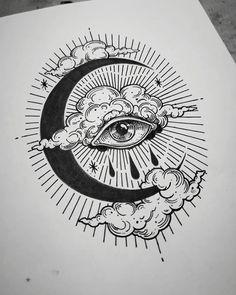 Viktor Fülöp on Inst Trippy Drawings, Cool Art Drawings, Pencil Art Drawings, Art Drawings Sketches, Tattoo Sketches, Ink Illustrations, Sketch Tattoo Design, Tattoo Drawings, Flash Art Tattoos