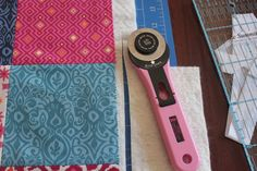 Sew Delicious: Quilted Mat Sew Along - Tutorial 2 - Basting and Quilting