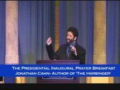 Jonathan Cahn- Speaker at Presidential Inaugural Prayer Meeting .. Jan 21, 2013-- A must watch for all believers.