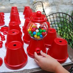gumball machine crafts (my rookie pinterest moment) | third story(ies)