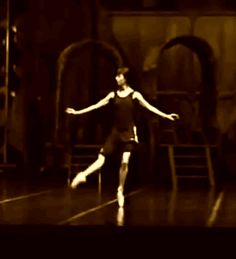 GIF Pas-de-quatre. Sylvie Guillem being perfect in rehearsal. http://vaganovaballetandmore.tumblr.com/