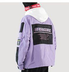 "UDXDIS ""ROBTS"" Jacket Street Outfit, Street Wear, Korean Fashion, Mens Fashion, Street Fashion, Pretty Soon, Rain Jacket, Jacket Men, Windbreaker Jacket"
