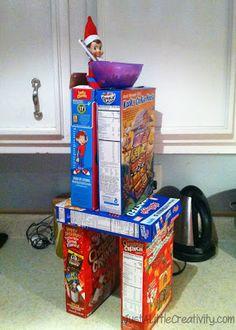 Just a little Creativity: Our Elf on the Shelf, Ringo Bells, Shares a Few Creative Ideas