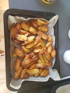 Gebackene Kartoffel Boote