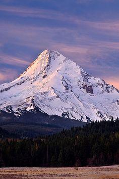 etherealvistas:  Mount Hood Autumn (USA) by Rick Lundh