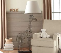 Pottery barn kids Giraffe Floor Lamp