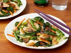 Get Tyler Florence's Chicken Stir-Fry Recipe from Food Network