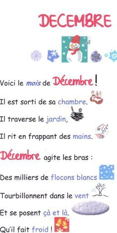 cheznounoucricri - Page 122 French Language Lessons, French Language Learning, French Lessons, Teaching Tools, Teaching Kids, French Poems, Happy New Year Message, Core French, French Classroom