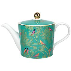 Buy Sara Miller Chelsea Collection Teapot, 1.1L, Green Online at johnlewis.com