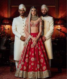 Sabyasachi Bridal Lehenga WhatsApp us for WhatsApp us for Purchase & Inqu Banarasi Lehenga, Sabyasachi Lehenga Bridal, Red Lehenga, Indian Bridal Lehenga, Jacket Lehenga, Sharara, Indian Bridal Outfits, Indian Bridal Wear, Indian Dresses