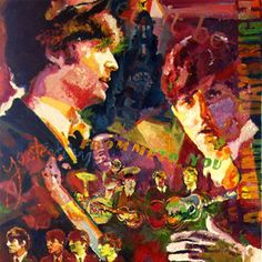 #TheBeatles by #JerryBlank at http://gma-lv.com/jerry-blank