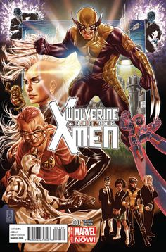 Wolverine and the X-Men #1 (2014)  Marvel Comics Modern Age Comic book covers.