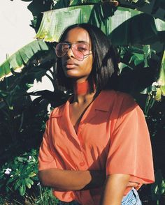 S U M M E R means I can shoot a lot more. This is bby girl Sab for @lesfillesnoire where I will be posting photos that my analog soulmate @ojo.kp and myself collaboratively direct/shoot  by Zurvita Zeal Wellness