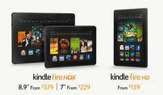 New Kindle Fire Family Announced!