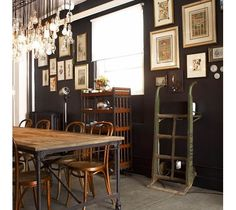 Dining room decorating-Home and Garden Design Ideas