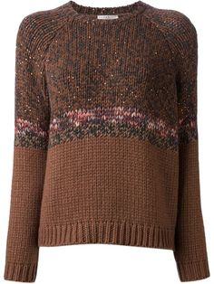 Brunello Cucinelli Knit Sweater - Brown
