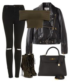 A fashion look from May 2016 featuring leather jackets, distressed jeans and open toe booties. Browse and shop related looks. Bad Girl Outfits, Cute Teen Outfits, Teen Fashion Outfits, Teenager Outfits, Swag Outfits, Girly Outfits, Retro Outfits, Grunge Outfits, Look Fashion