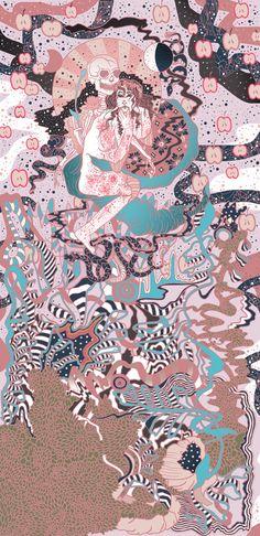 Forbidden Fruit Art Print by Cassidy Rae Marietta | Society6