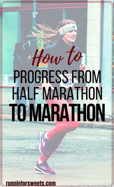Ready to progress from half marathon to marathon? Here are 6 tips to make training for your first full marathon a success. Plus 3 training plans to choose from! #halfmarathontomarathon #fullmarathon #firstmarathon First Marathon Training, Beginner Half Marathon Training, Half Marathon Tips, Half Marathon Motivation, Running Motivation, Beginner Running, Jogging For Beginners, Beginner Runner Tips, Long Distance Running Tips