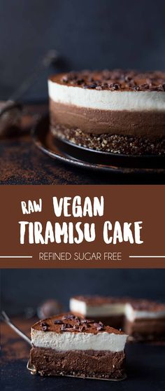 Roh-Veganer Tiramisu Kuchen Raw vegan tiramisu cake Related Post Shoney's strawberry pie The Best Gluten Free Cupcakes The Best Sponge Cake strawberry angel food cake dessert Bolo Vegan, Raw Vegan Cake, Raw Vegan Desserts, Raw Cake, Raw Vegan Recipes, Vegan Dessert Recipes, Vegan Treats, Vegan Foods, Healthy Desserts