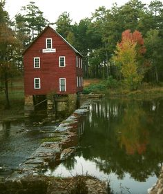 Starrs Mill on the old McIntosh Trail, Atlanta, Georgia     5 x 7 matted to 8 x 10   $20.00 or upsize