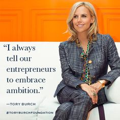 4d740bbccb7f The Tory Burch Foundation supports the economic empowerment of women  entrepreneurs and their families in the