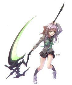 Shinoa Hiiragi | Owari no Seraph - Seraph of the End #Anime #Manga