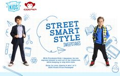 "2015 Florsheim Kids and Appaman ""Street Smart Style"" Sweepstakes"