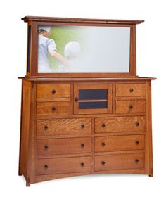 McCoy TV Bureau From Simply Amish Furniture
