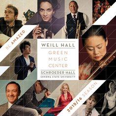 Green Music Center 15/16 Subscription Brochure
