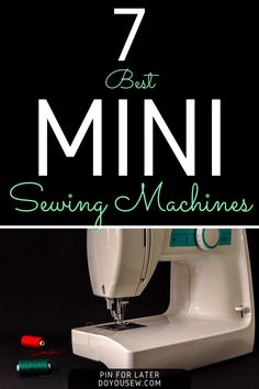 The mini sewing machine is both highly praised and criticized by sewists. Critics usually say that they are no better than toys, can't sew through thick fabric, and they are not nearly as durable as good old metal sewing machines.But these harsh words are unjust and wrong founded. I have to say that these critics got it all wrong. And I'll prove it. #doyousew #sewingmachine #minisewingmachine #sewingmachinereviews #singer #brother #janome #sewer #sewist #seamstress #tailor #garment #stitching Sewing Machine Stitches, Sewing Machine Reviews, Brother Sewing Machines, Harsh Words, Sewing Blogs, Janome, Sewing Projects For Beginners, Sewing For Kids, Stitching