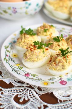 Polish Recipes, Polish Food, Happy Foods, Easter Recipes, Finger Foods, Food And Drink, Appetizers, Cooking Recipes, Eggs