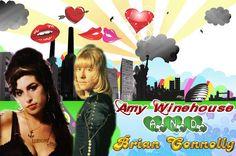 Wallpaper que eu mesma fiz, em homenagem ao Brian Connolly e Amy Winehouse! São 2 estrelas da música que eu amo muito! ✩Ⓘ❤Ⓛⓞⓥⓔ ⓎⓞⓊ✩ :)