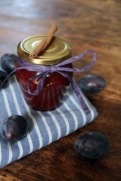 Create a free account Healthy Eating Tips, Healthy Nutrition, Healthy Cooking, Chutneys, Jam Recipes, Sweet Recipes, Italian Recipes, Plum Jam, Jam And Jelly