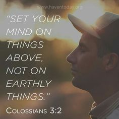 Colossians  3  :  2