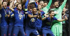 United overcome terror attack to win the Europa league for the first time ever ; putting Mourinho on historical record