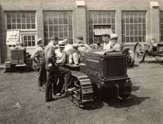 Teaching People About the McCormick-Deering Tractor, 1934