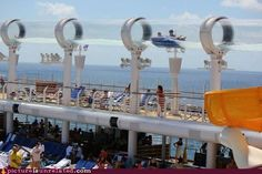An inner tube ride called the Aqua Duck on the Disney Dream & Disney Fantasy!! A MUST DO while cruising Disney Cruise Lines!