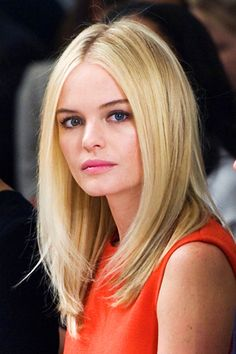 Kate Bosworth Attends the Calvin Klein Show During Fall 2011 Mercedes-Benz Fashion Week