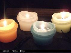 Vela decorativa - Mini Luminárias Encanto - Exclusiva !! <br>Garanta uma maravilhosa decoração para sua festa ou evento. <br>Tempo de Queima : aproximadamente 8 horas <br> Várias opções de cores.