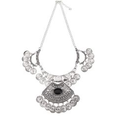 Yoins Sliver Necklace (11 AUD) ❤ liked on Polyvore