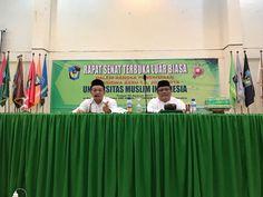 Pengenalan dengan Dekan serta WD.III kepada Maba 2017 FH-UMI @ Darul Mukhlisin Padang Lampe, Pangkep.