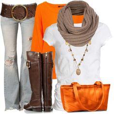 orange fall...