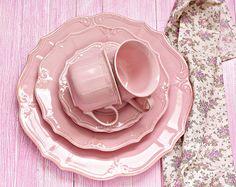 Vajilla rosa, via Flickr.