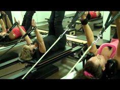 A Pilates Reformer Class - On The STOTT PILATES Reformer - YouTube