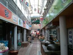 강릉중앙시장 국밥골목  Traditional market Central Market in Gangneung