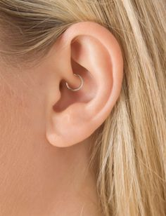 "5/16"" Plain Ring (Daith) 
