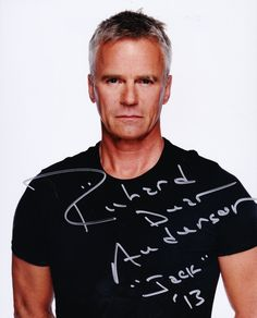 richard dean anderson | Richard Dean Anderson seemed to always do conventions I didn'tattend ...