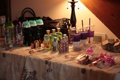 Favorite things party. Id LOVE to do one of these and a spa party combined for me and the girls sometime. what fun!